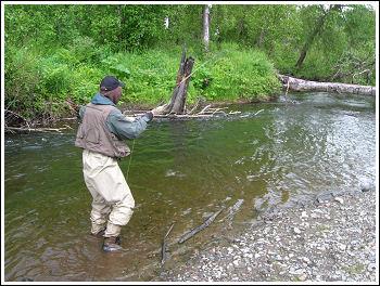 Fly Fishing Guides Flies Fishermen Gear Dan Fallon 8-2011