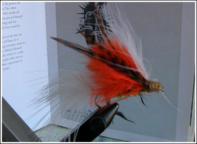 Fly Fishing Guides Flies Fishermen Gear Red 9-2011